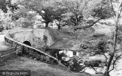 Sennybridge, Llwyncyntefin Bridge c.1955