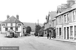 Sennybridge, Main Street c.1955