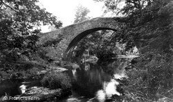 Sennybridge, Pantyscallog Bridge c.1960