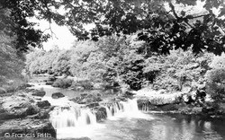 Sennybridge, Pantyscallog Falls c.1955
