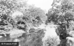 Sennybridge, The River c.1955