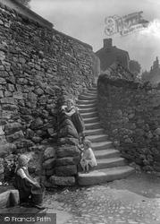 Castlebergh Wells And Steps 1924, Settle