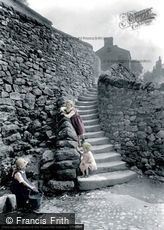 Settle, Castlebergh Wells and Steps 1924
