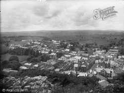 From Castleberg Crag 1921, Settle