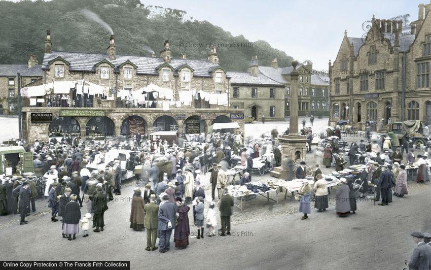 Settle, Market Day 1921