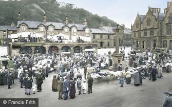 Settle, Market Day 1921