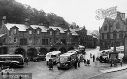 Market Place And The Shambles c.1950, Settle