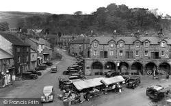 Market Place c.1955, Settle
