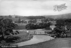 The View From Cammock Lane 1903, Settle