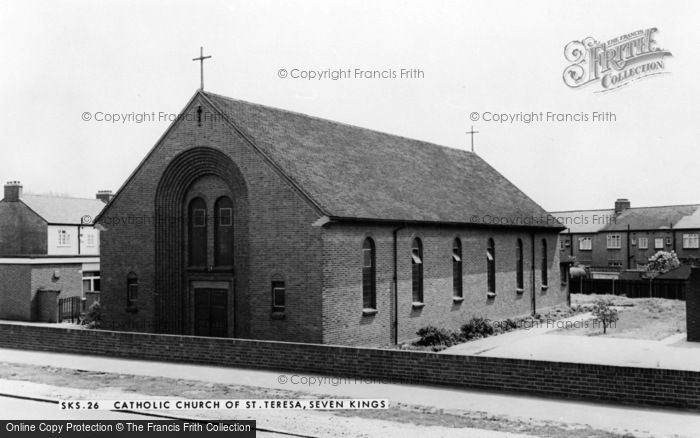 Photo of Seven Kings, St Teresa's Catholic Church c.1965