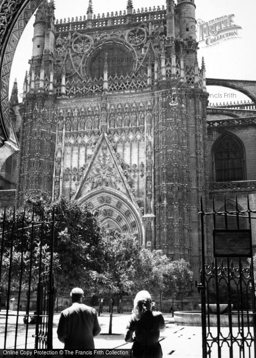 Photo of Seville, Cathedral 1960