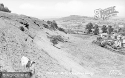 Shaftesbury, Castle Hill c.1955