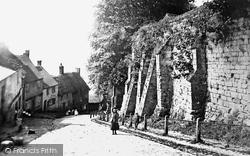 Shaftesbury, Gold Hill 1902