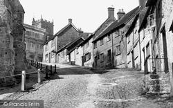 Shaftesbury, Gold Hill 1955