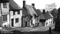 Shaftesbury, Gold Hill c.1955