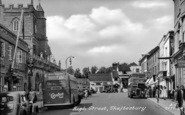 Shaftesbury, High Street c.1955