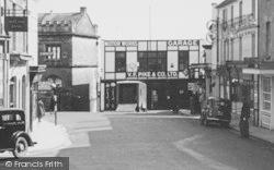 Shaftesbury, High Street, Pike's Garage  c.1950