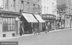 Shaftesbury, High Street, Shops c.1950