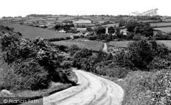 Shaftesbury, Spreadeagle Hill And Melbury Abbas c.1955
