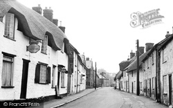 Shaftesbury, St James Street c.1955