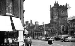 Shaftesbury, St Peter's Church c.1955