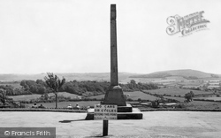 Shaftesbury, The War Memorial, Park Walk c.1965
