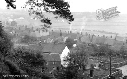 Shaftesbury, View From Park Walk 1951