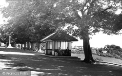 Shaftesbury, View From Park Walk c.1960