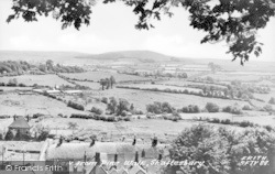 Shaftesbury, View From Pine Walk c.1960