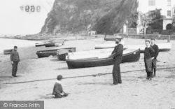 Shaldon, A Sailor 1903