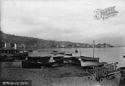 Boats On Shoreline 1890, Shaldon