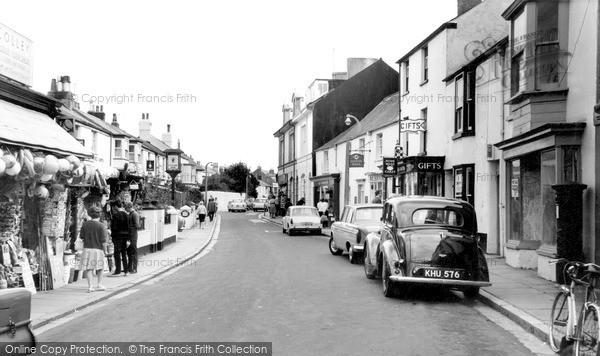 Photo of Shaldon, Fore Street c.1965