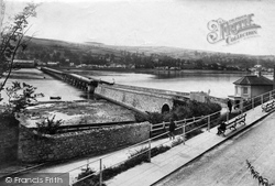 Shaldon Bridge 1907, Shaldon