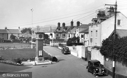 The Green And Clock Tower 1938, Shaldon