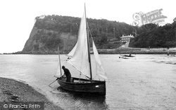The Ness And Fishing Boat 1922, Shaldon