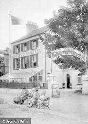 Shaldon, Undercliff Hotel 1928