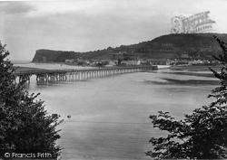 Village And Bridge 1922, Shaldon