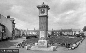 Shaldon, War Memorial 1922