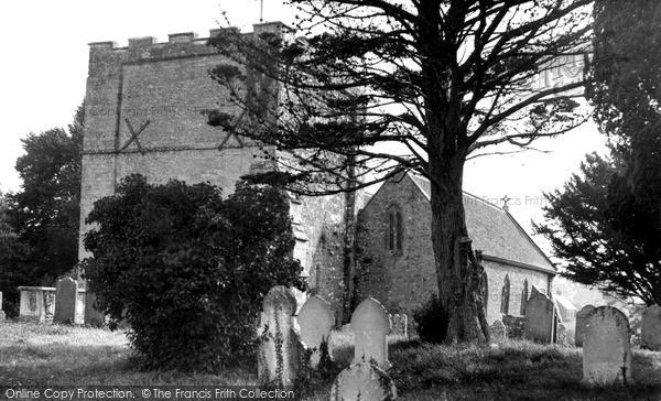 Photo of Shalfleet, Church Of St Michael The Archangel c.1955