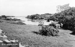 Shalfleet, The Creek c.1955