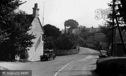 Shalfleet, The Village c.1955