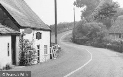 Shalfleet, The Village Shop c.1955