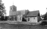 Shalford, St Andrew's Church 1909