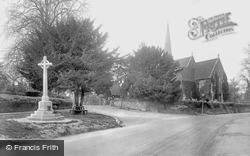 Shalford, St Mary's Church And War Memorial 1922