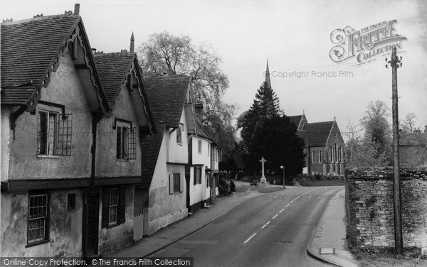 Shalford, the Church c1955.  (Neg. S101012)  © Copyright The Francis Frith Collection 2007. http://www.francisfrith.com