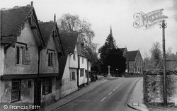 Shalford, St Mary's Church c.1955