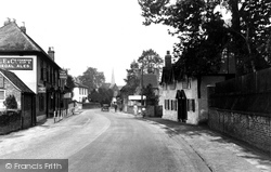 Shalford, The Village 1933
