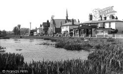 Shalford, Village And Pond c.1955