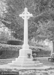 Shalford, War Memorial 1922