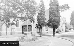 Shamley Green, Christ Church c.1955